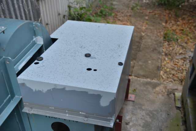 集塵機の塗装