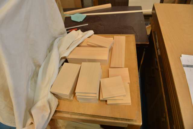 賽銭箱の材料木取り2
