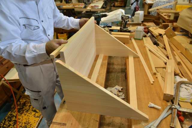 棚板の製作