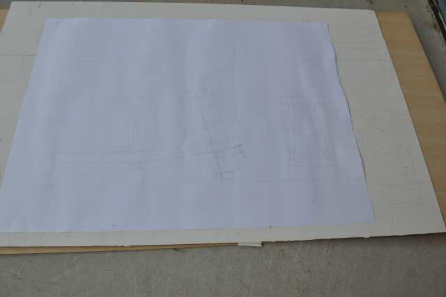 唐櫃台の原図