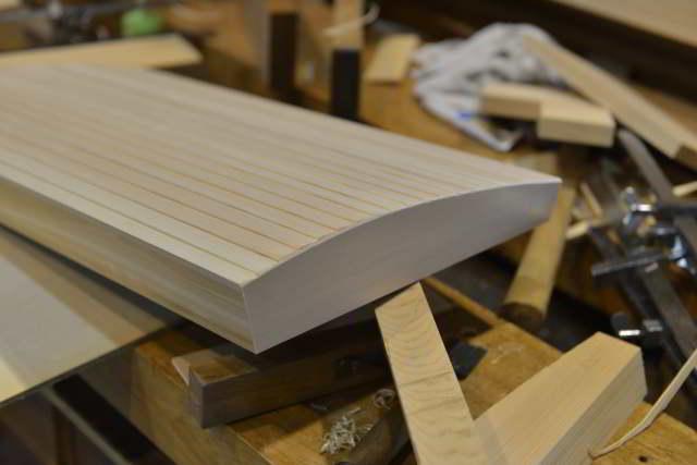 板屋根の試作