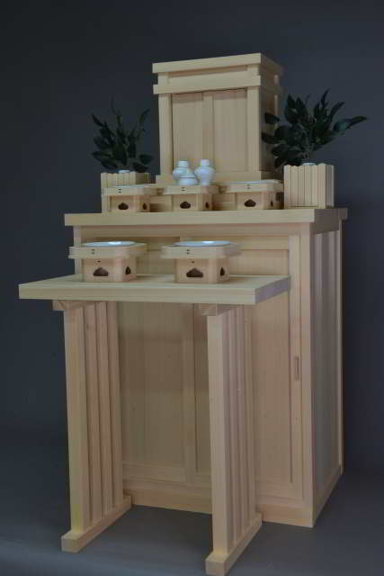 小型御霊舎と霊舎台