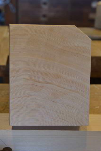木曽桧の木口
