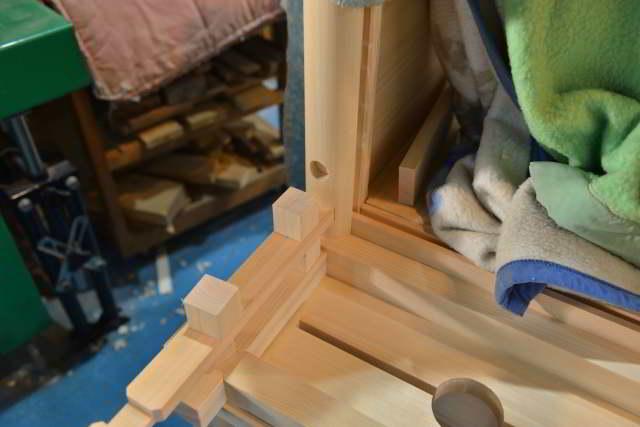 神明宮の製作