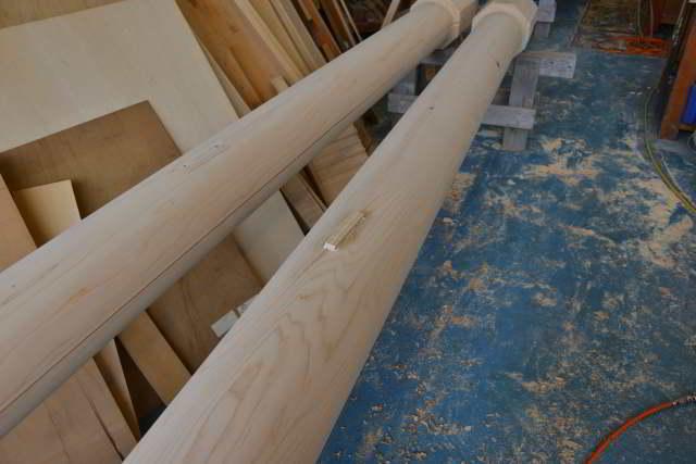 稲荷鳥居の柱埋め木