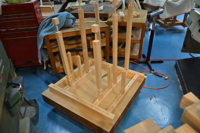 稲荷宮の胴製作